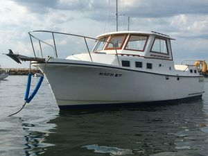 Used Albin Family Cruiser With Trailer Aft Cabin Boat For Sale