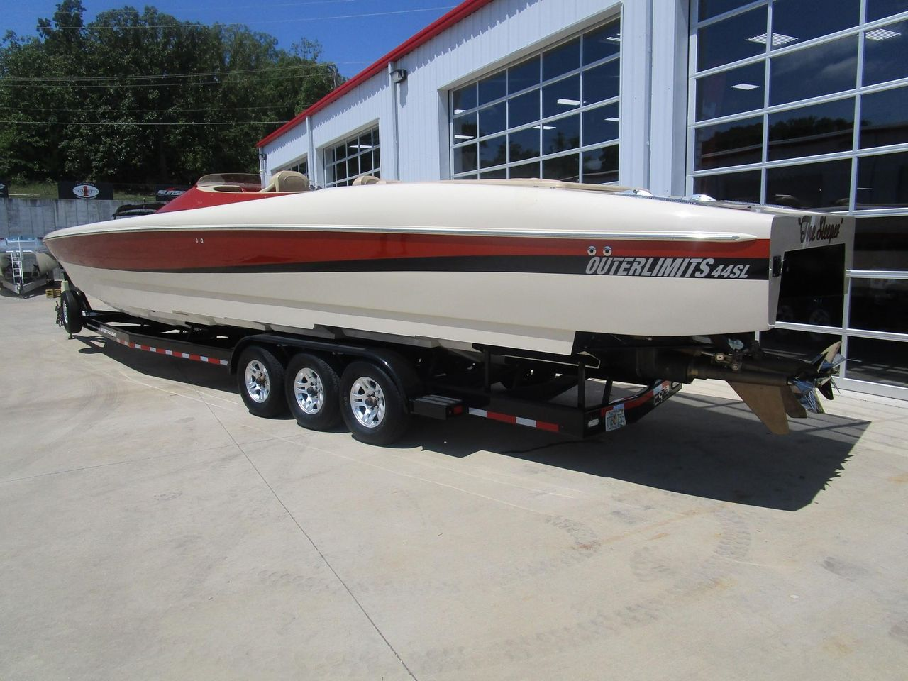 2011 Used Outerlimits 44SL High Performance Boat For Sale