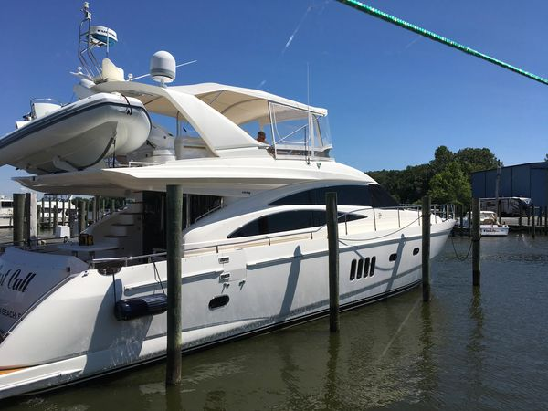 Used Viking Princess 67 Vikng Sport Cruiser BY Princess Sports Cruiser Boat For Sale