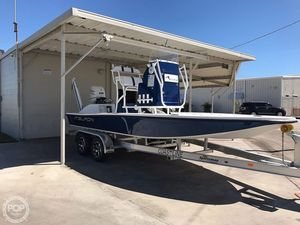 Used Tiburon 21LX Flats Fishing Boat For Sale