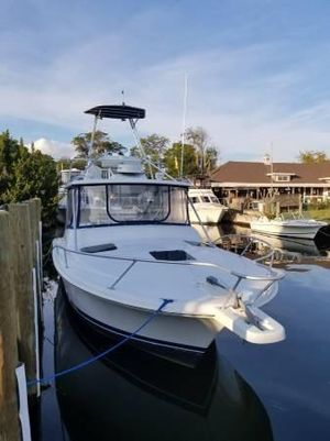 Used Luhrs 290 Sport Fisherman Saltwater Fishing Boat For Sale
