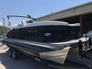 Used Manitou Xplode 23 Srs/shp Pontoon Boat For Sale
