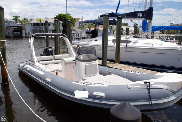 Used Radical Ribs 220 LX Center Console Fishing Boat For Sale