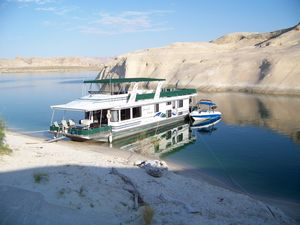 Used Stardust Cruisers Desert Oasis Trip 32 House Boat For Sale