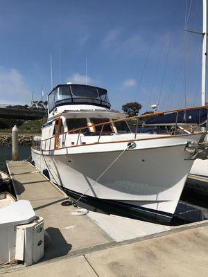 Used Chb Sedan Trawler Europa Trawler Boat For Sale