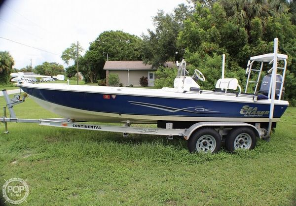 Used Sea Chaser 200 Flats Skiff Fishing Boat For Sale