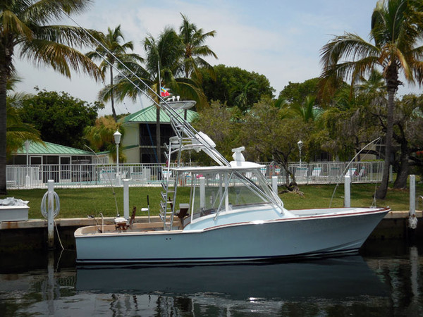 Used L And H Express Sports Fishing Boat For Sale
