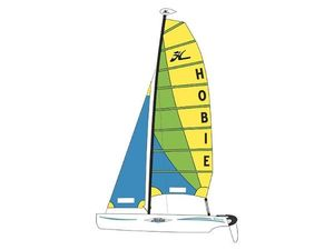 Used Hobie Cat Multi-Hull Sailboat For Sale