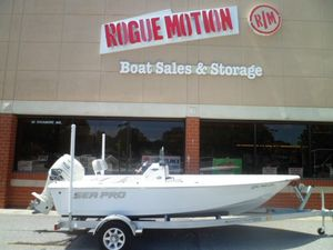 Used Sea Pro 172 Bay Saltwater Fishing Boat For Sale