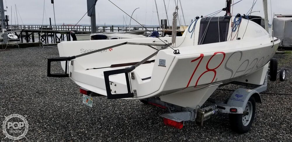2015 Used Seascape 18 Racer and Cruiser Sailboat For Sale