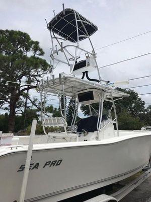 Used Sea Pro 270 Center Console Center Console Fishing Boat For Sale
