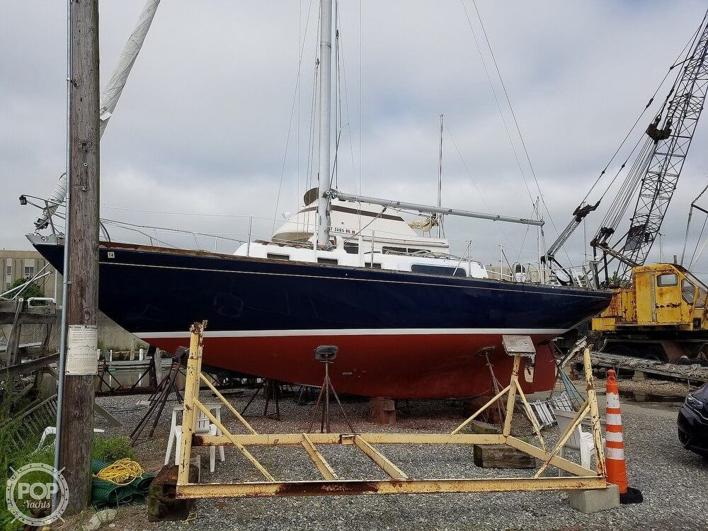 1970 Used Morgan 34 Racer And Cruiser Sailboat For Sale