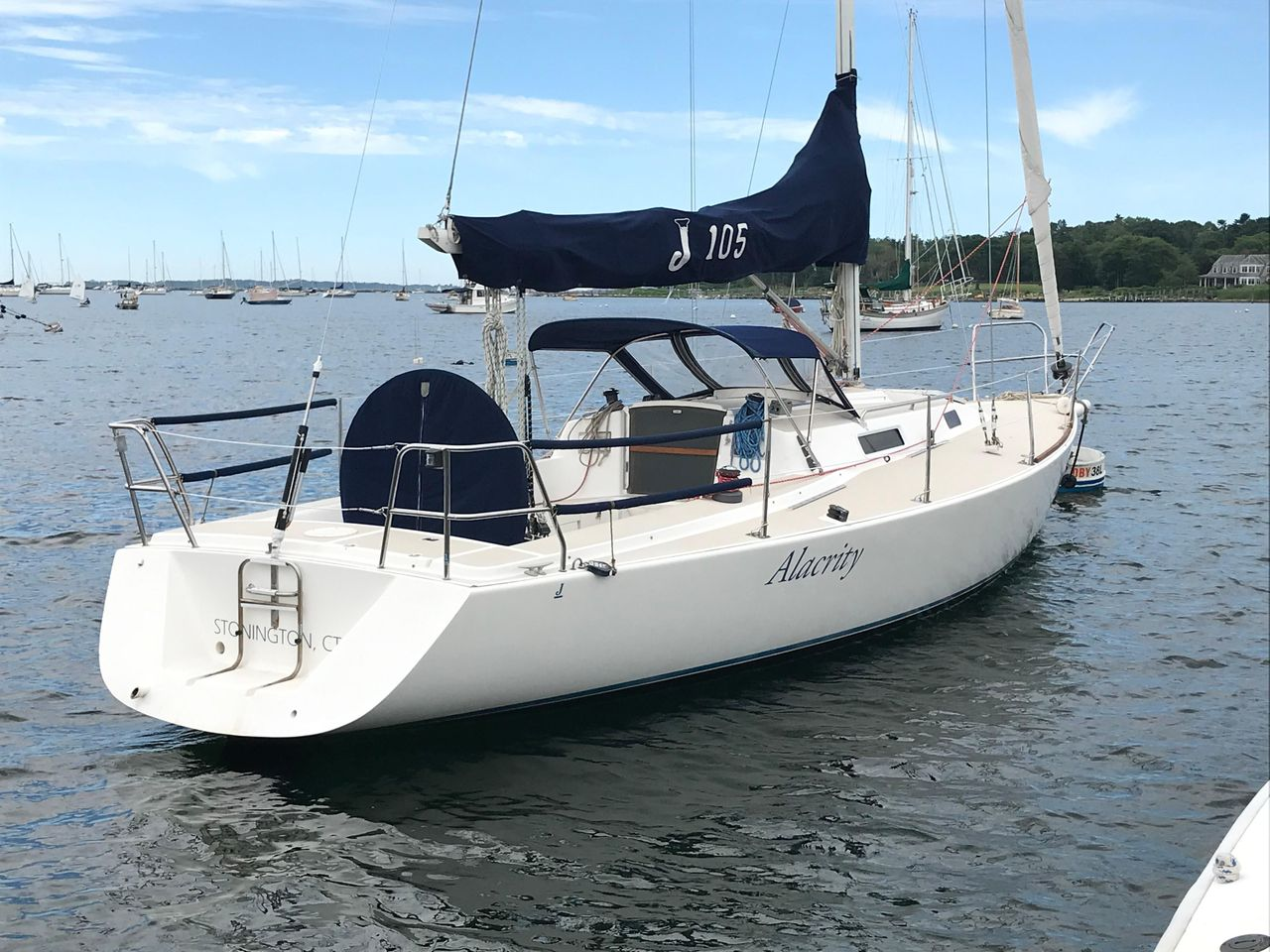 1997 Used J Boats J/105 Racer and Cruiser Sailboat For Sale