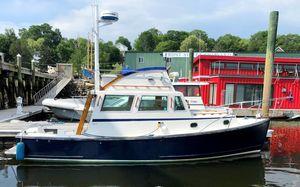 Used Ellis Downeast Flybridge Downeast Fishing Boat For Sale
