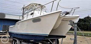 Used Baha Cruisers 270 King Cat Power Catamaran Boat For Sale