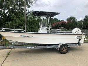 Used Maritime Skiff 20 Deluxe Center Console Fishing Boat For Sale