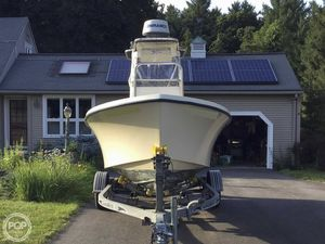 Used Jones Brothers Cape Fisherman 20 Center Console Fishing Boat For Sale