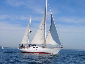Used Transpacific Marine 49 Transpac Mark LL Center Cockpit Sailboat For Sale