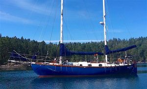 Used Bluewater Yachts Ingrid 38 Ketch Sailboat For Sale