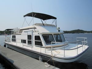 Used Gibson 37 Sport Series House Boat For Sale
