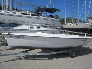 Used Precision 18 Sloop Sailboat For Sale