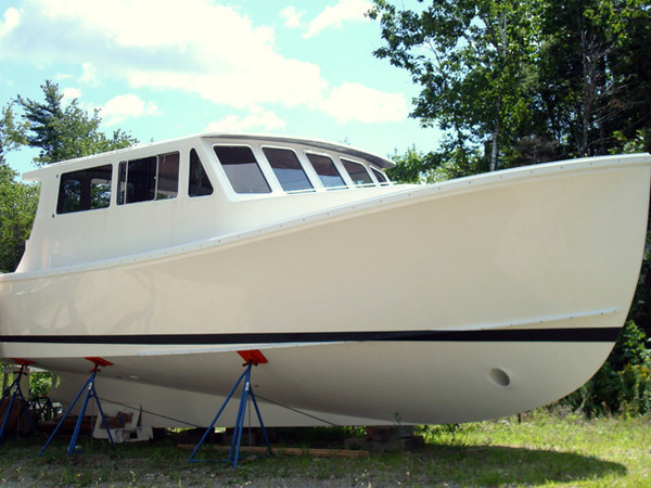 New Wesmac Downeast Sedan Express Sports Fishing Boat For Sale