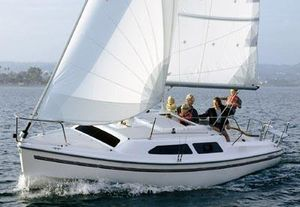 Used Catalina 250 Daysailer Sailboat For Sale