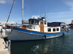 Used Lord Nelson 37 Victory Tug Trawler Boat For Sale
