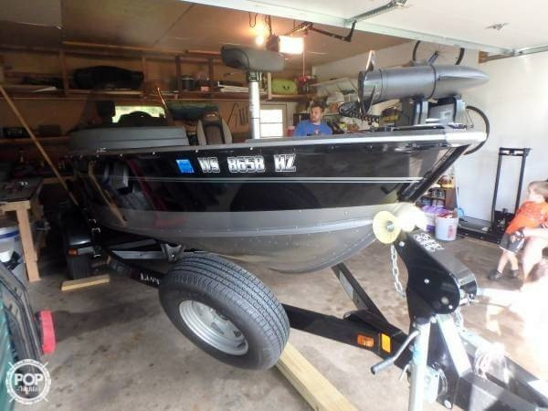 Used Lund 1675 Impact SS Aluminum Fishing Boat For Sale