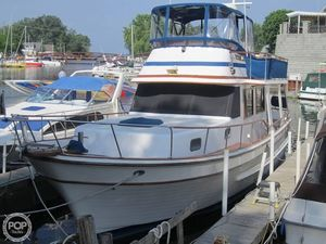 Used Oceania 38 Trawler Boat For Sale