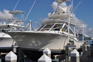 Used Carolina Classic 35 Express Cruiser Boat For Sale