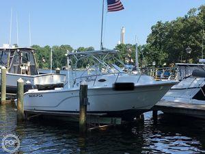 Used Sea Fox 236WA ENCORE Walkaround Fishing Boat For Sale