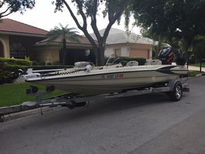 Used Triton Tx-19 Saltwater Fishing Boat For Sale