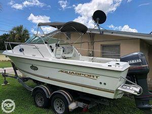 Used Aquasport 215 Explorer Tournament Master Walkaround Fishing Boat For Sale