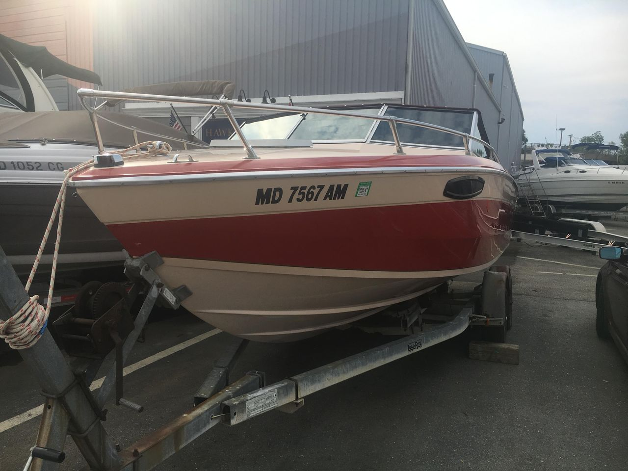 1985 Used Chris-Craft 210 Scorpion High Performance Boat For