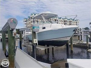Used Cobia 256 Express Walkaround Fishing Boat For Sale