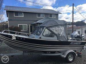 Used Klamath 16 EXW Aluminum Fishing Boat For Sale