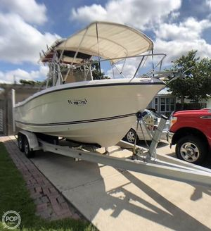 Used Cape Craft 2200WI Center Console Fishing Boat For Sale