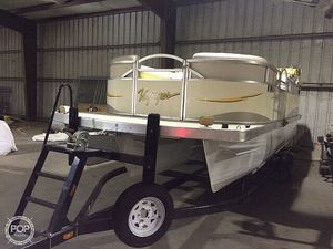 Used Voyager 20 sport Pontoon Boat For Sale