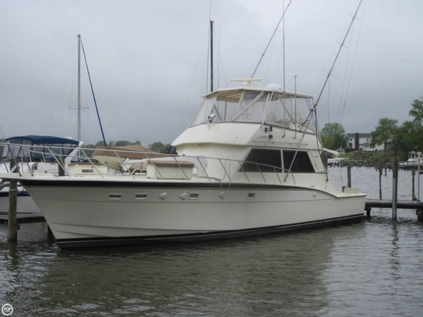 Used Hatteras 55 Convertible Sports Fishing Boat For Sale