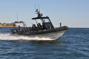 Used Ribcraft 9.0 Center Console Fishing Boat For Sale