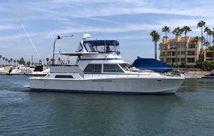 Used Uniflite Yacht Fisherman Sports Fishing Boat For Sale