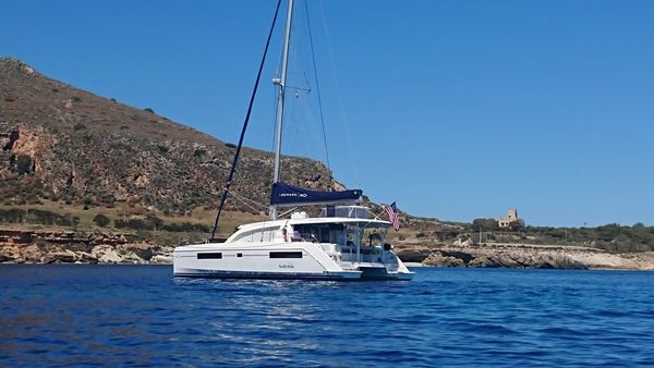Used Leopard 40 Catamaran Sailboat For Sale