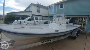 Used Majek Texas Slam 23 Flats Fishing Boat For Sale