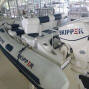 Used Skipper 30 HP Evinrude ETEC Tender Boat For Sale