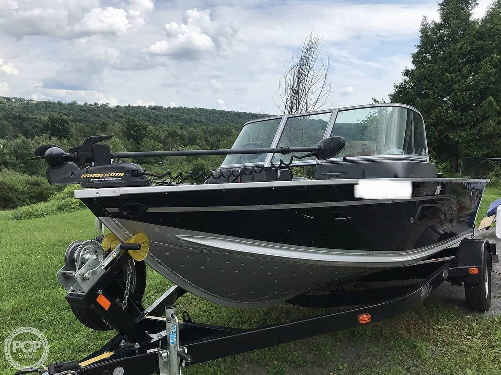 2015 Used Alumacraft Competitor 165 Aluminum Fishing Boat