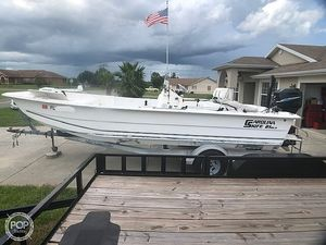 Used Carolina Skiff 21DLX Flats Fishing Boat For Sale