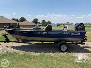 Used Crestliner 1650 Discovery Bass Boat For Sale