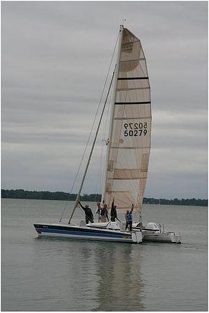 Used Stiletto 30' Catamaran Sailboat For Sale