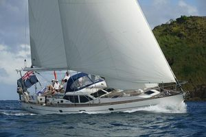 Used Oyster 53 Deck Saloon Cruiser Sailboat For Sale